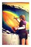 The Artist by VioletTrinity