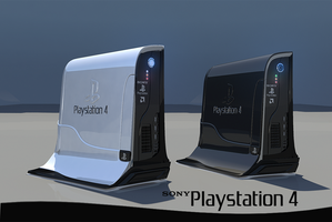 Playstation 4 by ivul