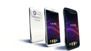 Galaxy Cellphone Concept. by ivul