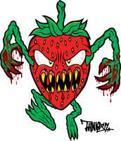 Killer Strawberry by THNKboy