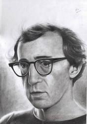 Woody Allen by dreerose