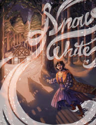 Snow White (book Cover Redesign) by cocokat