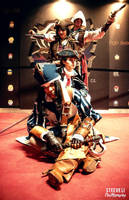::AC cosplays : Kenway's family with a girl :: by Lanzio