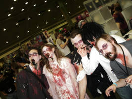More zombies at Otakon 2010 by morgoththeone