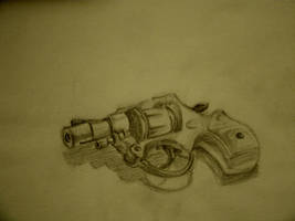 Toy gun sketch by morgoththeone