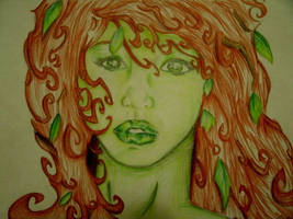 Poison Ivy face by morgoththeone