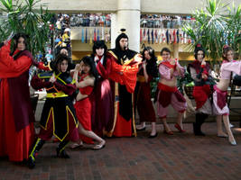 Fire nation group otakon 2011 by morgoththeone