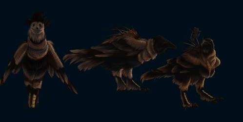 Scarecrows by CreatureGirl