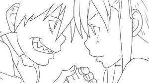 Soul Eater Lineart by D-Aare