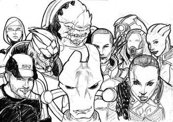 Mass Effect : Good Times by zenlang