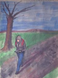 Silent Wanderer by zenlang