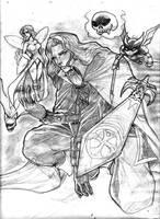 Alucard Sketch by zenlang