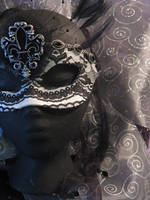 C'est l'amour Handmade Leather Mask by ToTheMask