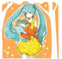contest-Spring Miku by sylvia65charm