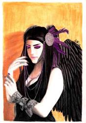 Violet Angel by WeAreMeHUh