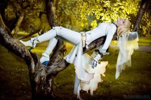 Rest - saber bride cosplay by SelenaAdorian