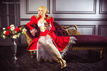 Vine for Empreror: Saber/Extra from Fate/extra by SelenaAdorian