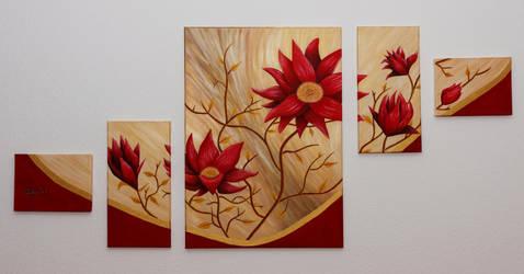 Asian Flower Ornatment by AniraFarinA