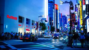 Shinjuku Dusk by burningmonk