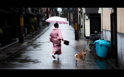 Kyoto Girl by burningmonk