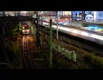 Trains by burningmonk