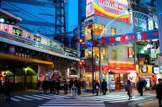 Tokyo by burningmonk