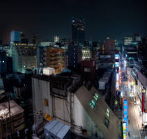 Night City by burningmonk