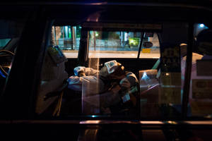 Taxi Driver by burningmonk