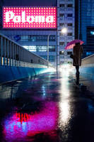 Neon Rain by burningmonk