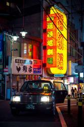 Neon Night by burningmonk