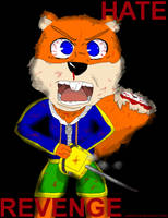 Hate and Revenge. Conker Pissed Off by pikaforce