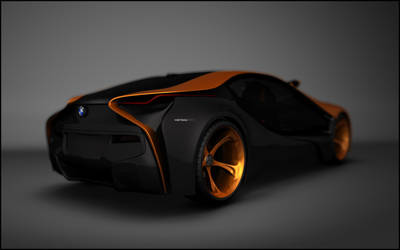 Concept BMW i8 back by accau