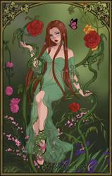 October Challenge: Poison Ivy by xXSamCrossXx