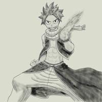Natsu (Fairy Tail) by YorickVDB