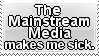 Stamp: The Mainstream Media by CyberSakiKun