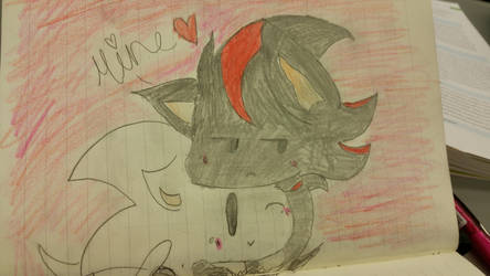 shadow and sonic chibi cute by ingwes99