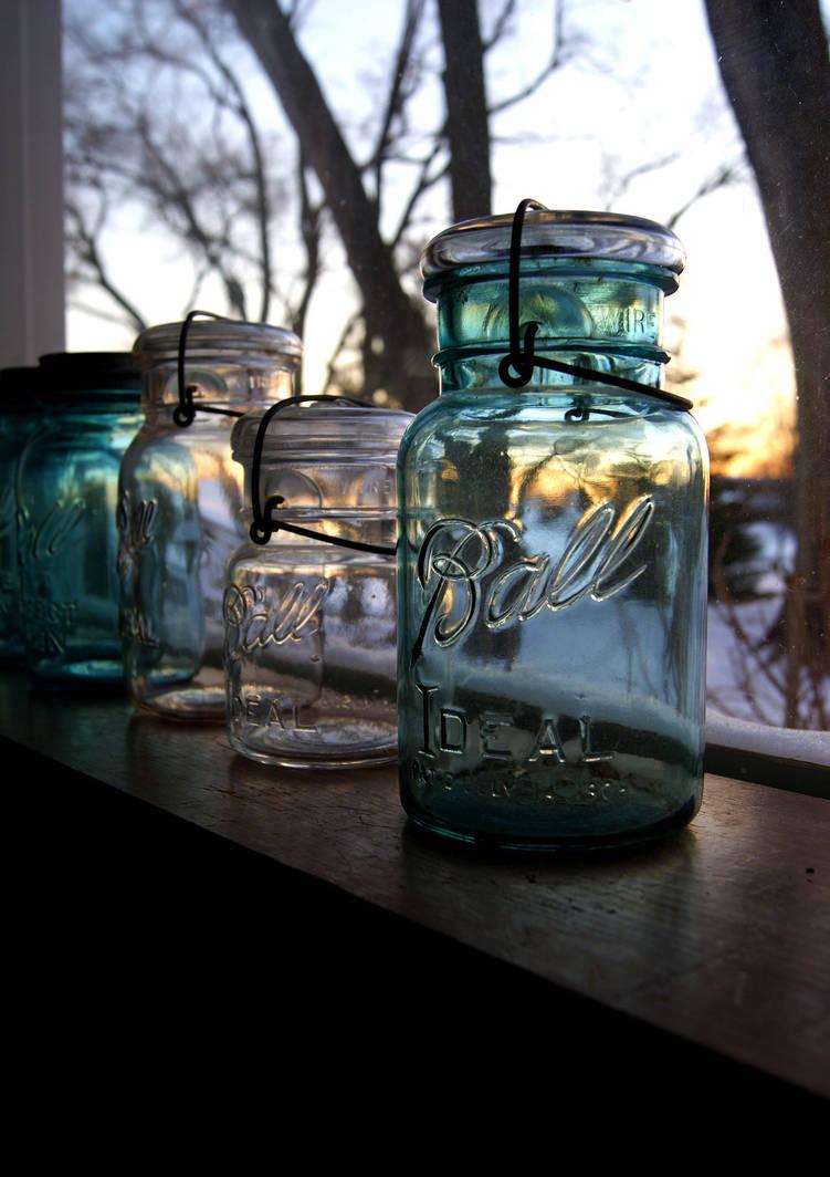 Mason Jars by RollingFishays