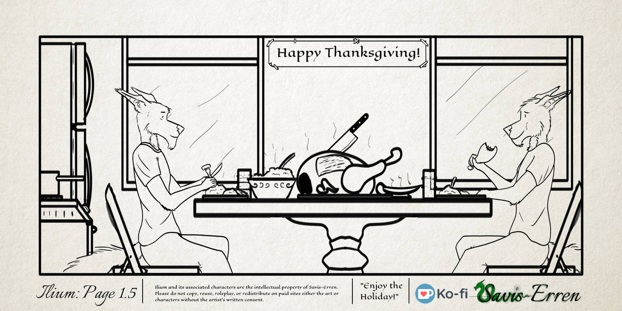 Ilium Page 15 Thanksgiving In Ilium By Savis Erren On Deviantart