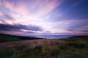 Doverhay Sunset by adamlack