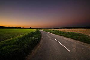 A Dark Road by adamlack