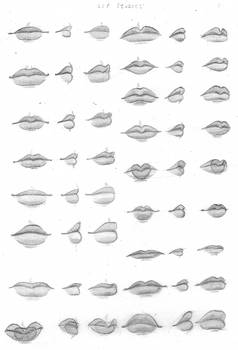 Lips by chibiki
