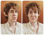 Bilbo make-up test by Sherlockian