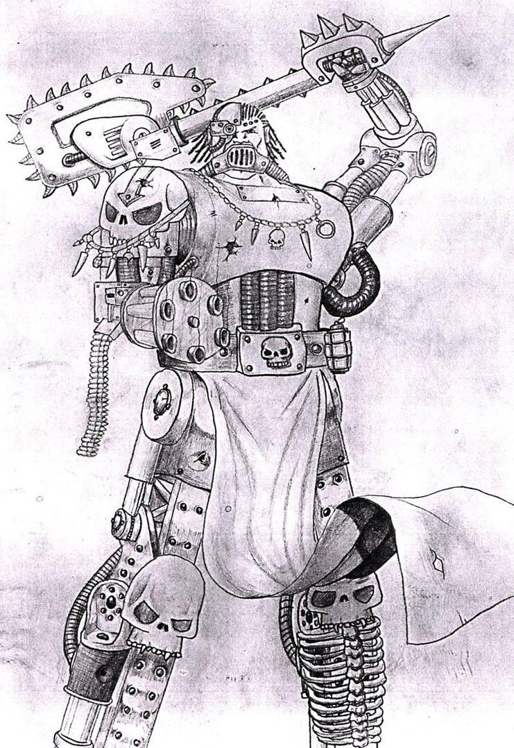 Warhammer 40,000 1 by petelea