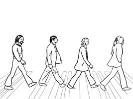 Beatles crossing by petelea