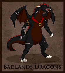Magikos Badlands Dragons by DragonsFlameMagic