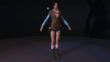 Kat from DMC -- Re-texture exercise by tracygraves