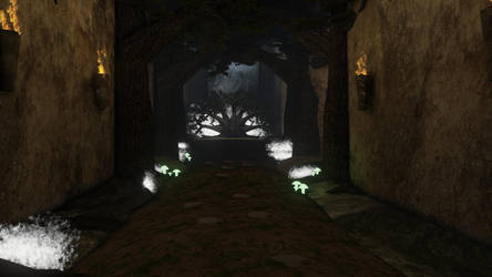 Groenholl - A Mystical Throne Room pt 2 by tracygraves