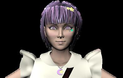 Mizuki - First draft face by tracygraves