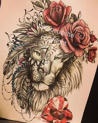 Tattoolionmandala Explore Tattoolionmandala On Deviantart