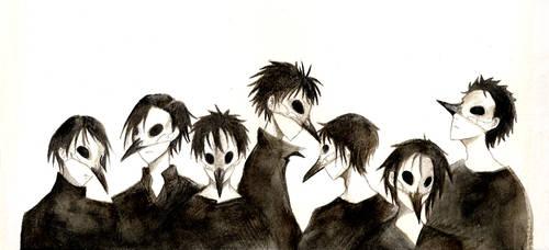 the seven ravens by Niji-iro